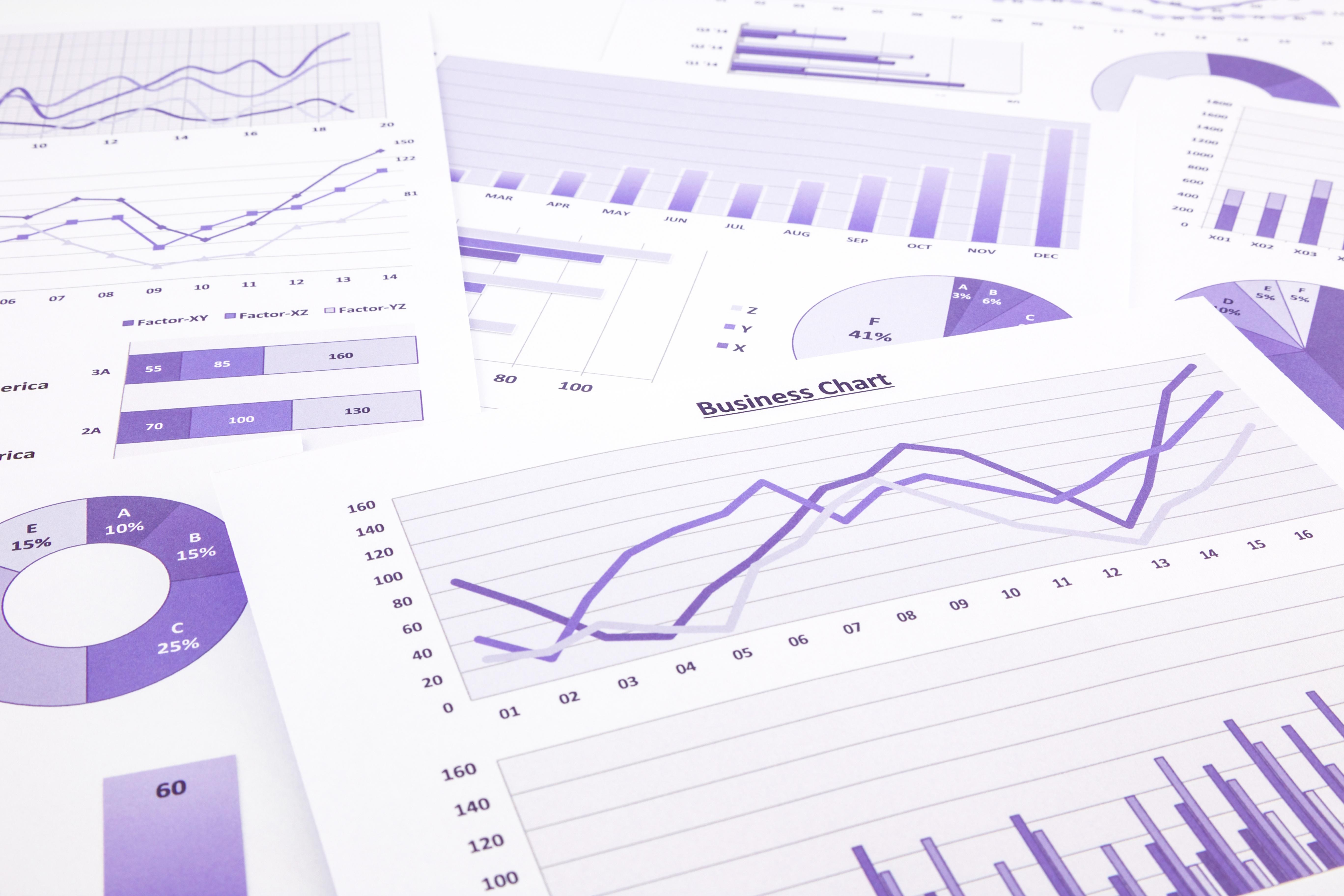 bigstock-Purple-Business-Charts-Graphs-68803846
